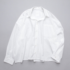 WHOWHAT 「 5X SHIRT – SHORT LENGTH LONG SLEEVE- / WHITE 」