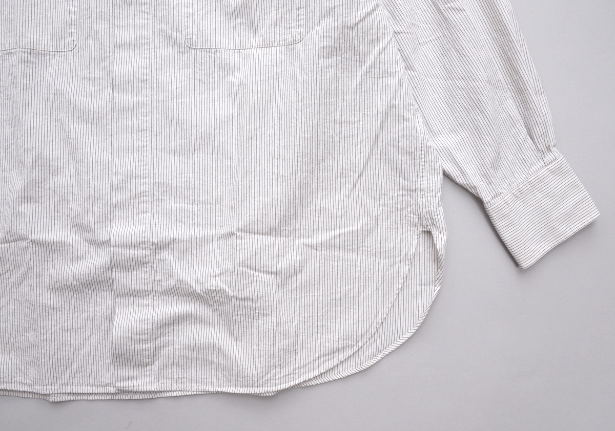 Marvine Pontiak shirt makers 「 Fly Front 3 Button SH / Hickory ST 」