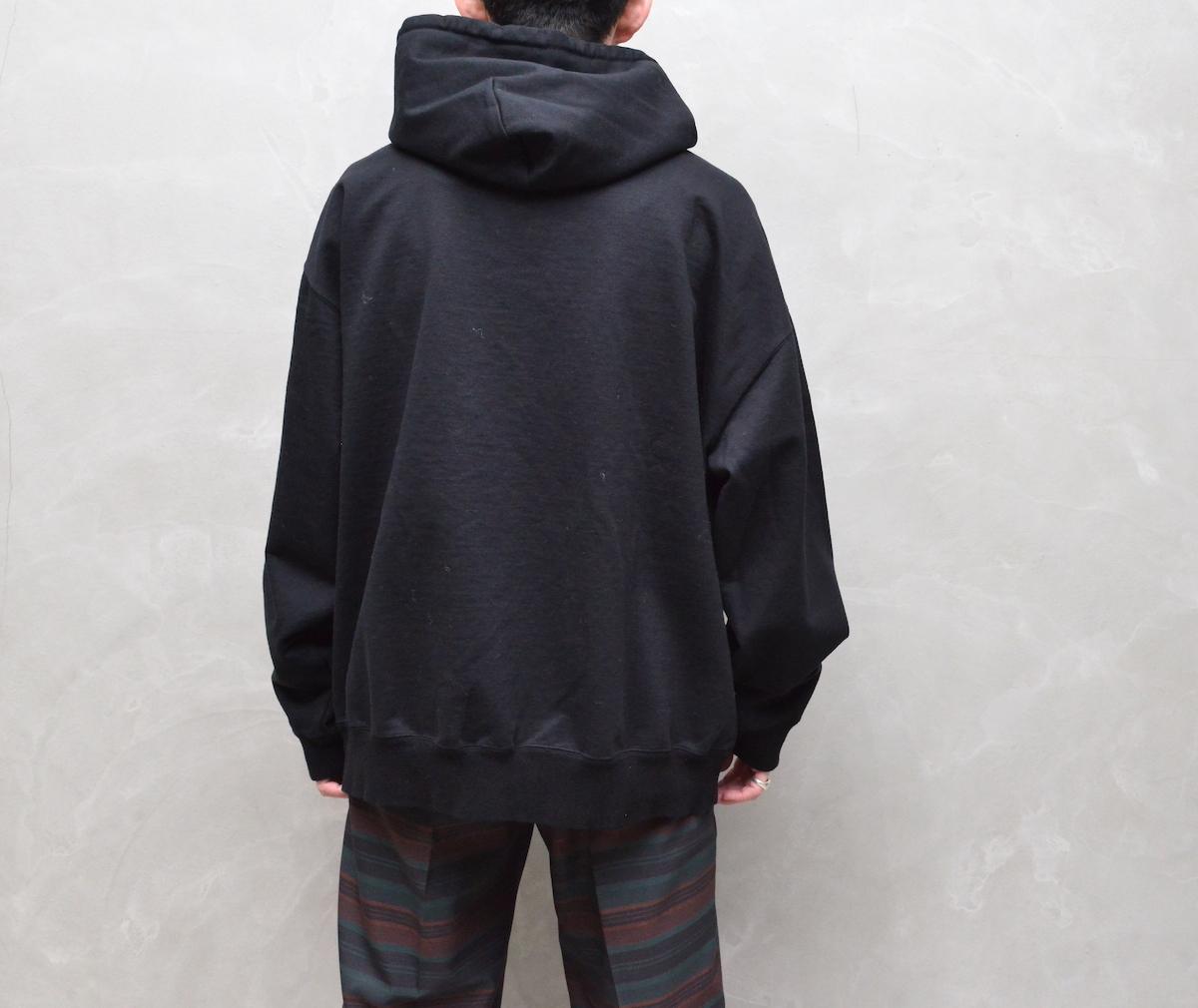 crepuscule 「 SWEAT HOODIE / Black 」