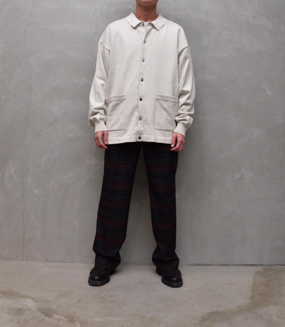 crepuscule 「 KNIT SHIRT / L.Gray 」