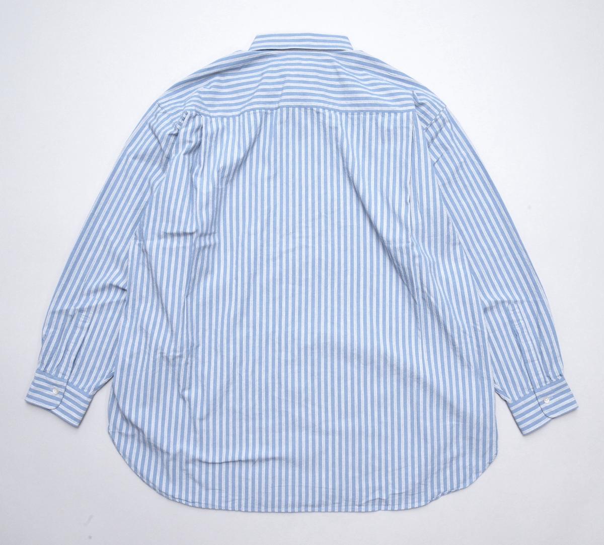 Marvine Pontiak shirt makers 「 Italian Collar SH / Blue ST 」