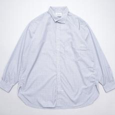 Marvine Pontiak shirt makers 「 Italian Collar SH / Gingham Dobby 」