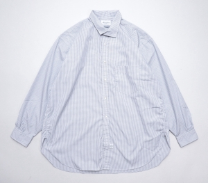 Marvine Pontiak shirt makers 「 Italian Collar SH / Gingham Dobby 」