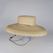 凹凸 -bocodeco- 「 Straw Shade Brim Amish / NAT 」