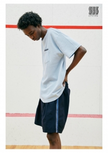 COMFORTABLE REASON 「Athletic Shorts / NAVY(BLUE LINE)」