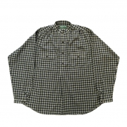 BROWN by 2-tacs 「 STAND COLLAR / NAVY × GREEN 」