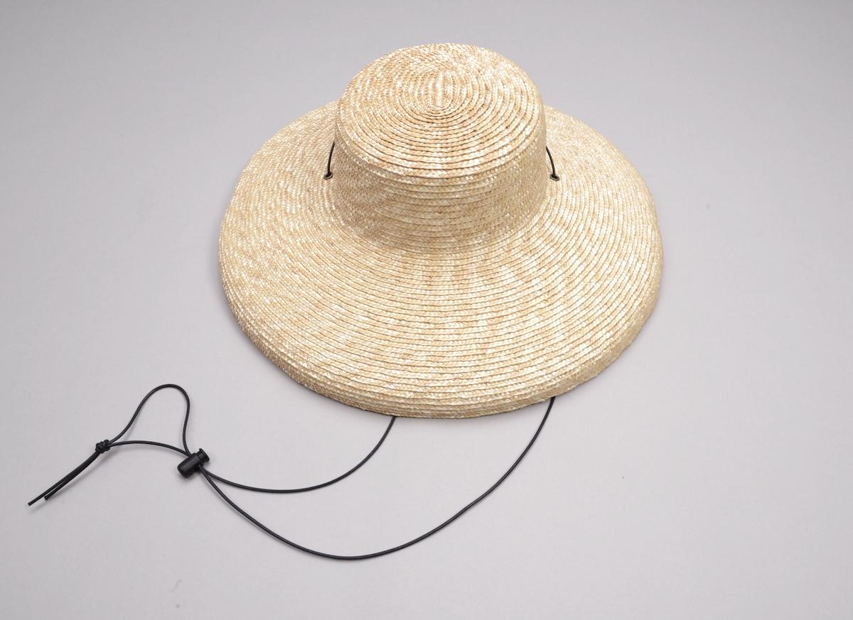 凹凸 -bocodeco- 「 Straw Shade Brim Amish / NAT 」