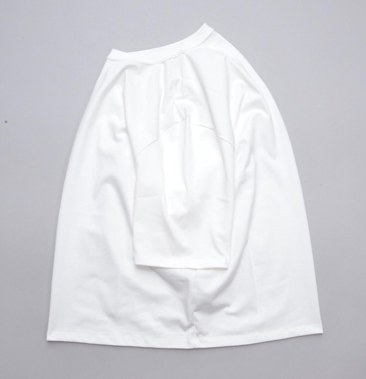 CAMIEL FORTGENS 「 11.01.01 TEE SHORT SLEEVE JERSEY / WHITE 」