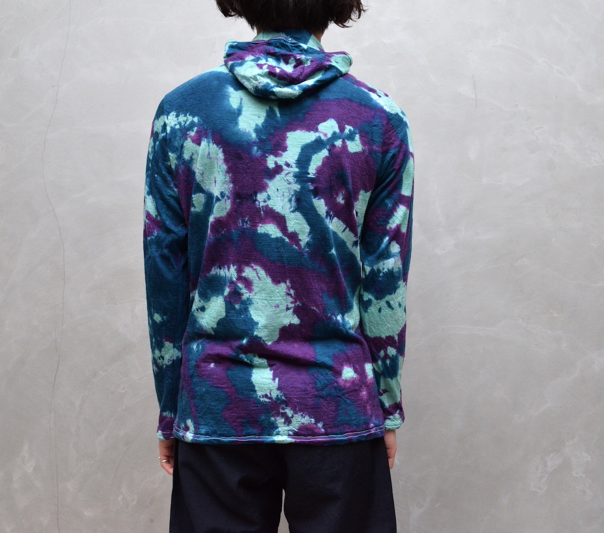 BROWN by 2-tacs 「 BAA HOODIE -DYEING- (2021SS) 」