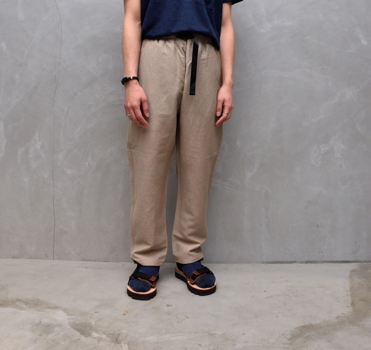 BROWN by 2-tacs 「 EASY PANTS / SAND 」