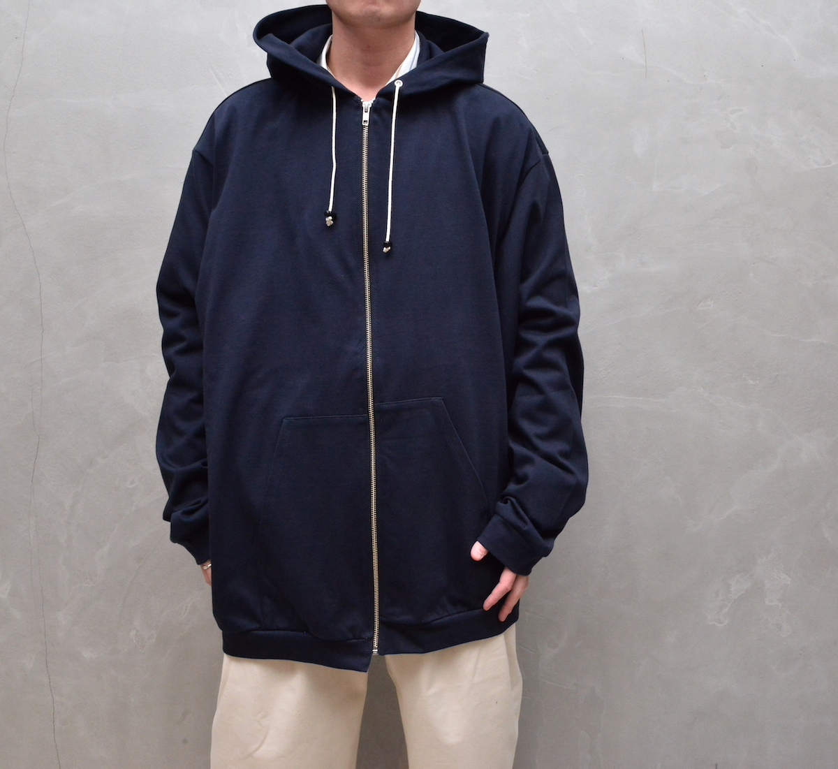 CAMIEL FORTGENS 「 11.08.10 HOODED SWEATER VEST JERSEY 」