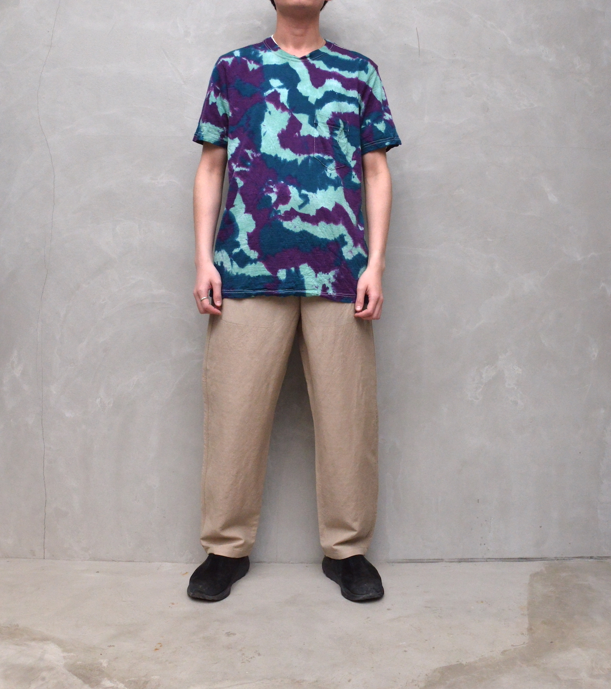BROWN by 2-tacs 「 BAA POCKET -DYEING- (2021SS) 」