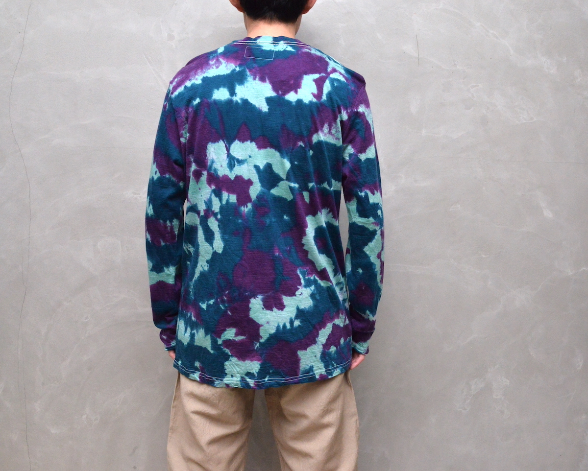 BROWN by 2-tacs 「 BAA CREW L/S -DYEING- (2021SS) 」