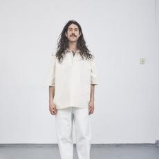 CAMIEL FORTGENS 「 11.05.06 GRANDPA PANTS COTTON TWILL / WHITE 」