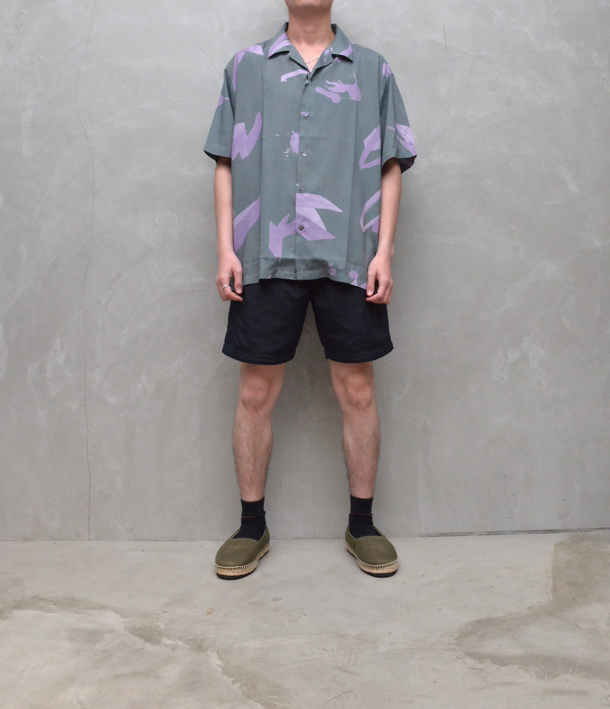 BROWN by 2-tacs 「 SWIM SHORTS / NAVY (2021SS) 」