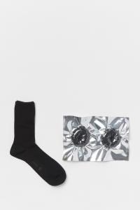 Hender Scheme 「 safe socks / black 」