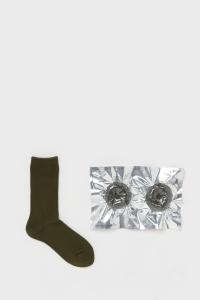Hender Scheme 「 safe socks / dark olive 」