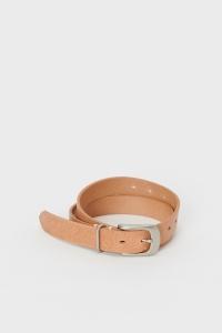 Hender Scheme 「 shrink shoulder belt / natural/AS 」