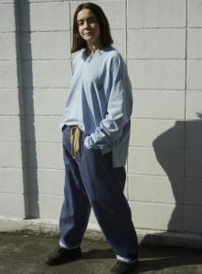 gourmet jeans「 TYPE 03 - FLETCHER / BLUE(落書きグルメ) 」