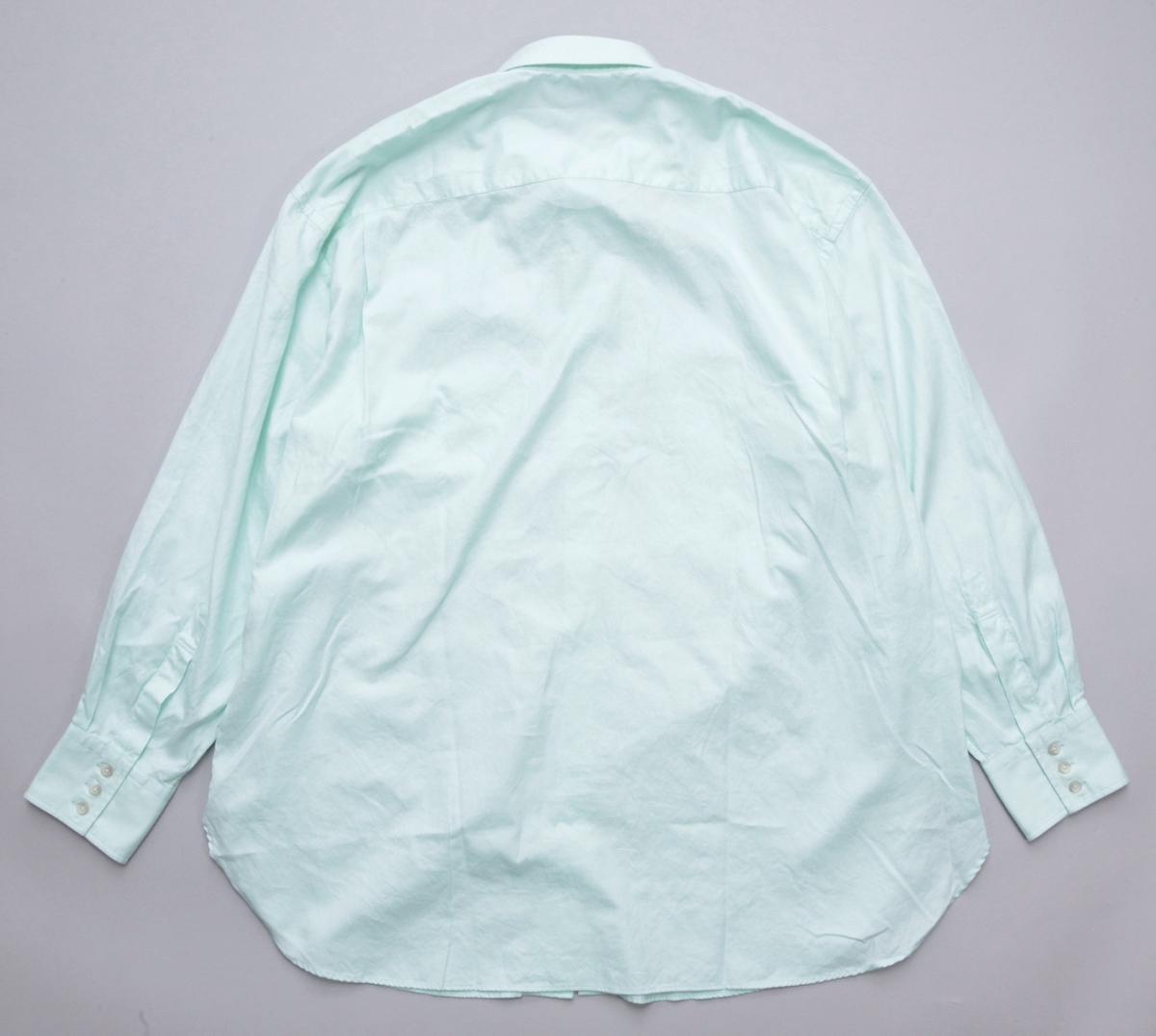 Marvine Pontiak shirt makers 「 Fly Front 3 Button SH - Mint 」