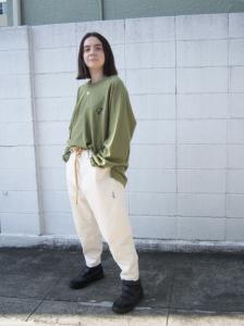 gourmet jeans「 TYPE 03 - LEAN / IVORY (ヘル爺) 」