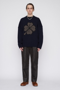 OUR LEGACY  「 POPOVER ROUNDNECK / LUCKY CLOVER 」