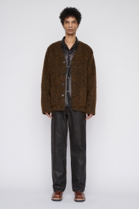 OUR LEGACY  「 CARDIGAN / OLIVE MOHAIR 」