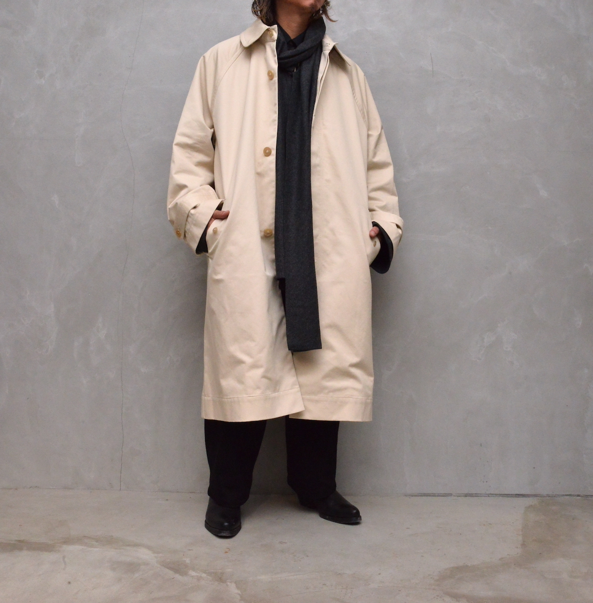 """HED MAYNER 「AW21_O30_ECR/DRL  """"TRENCH COAT""""」"""