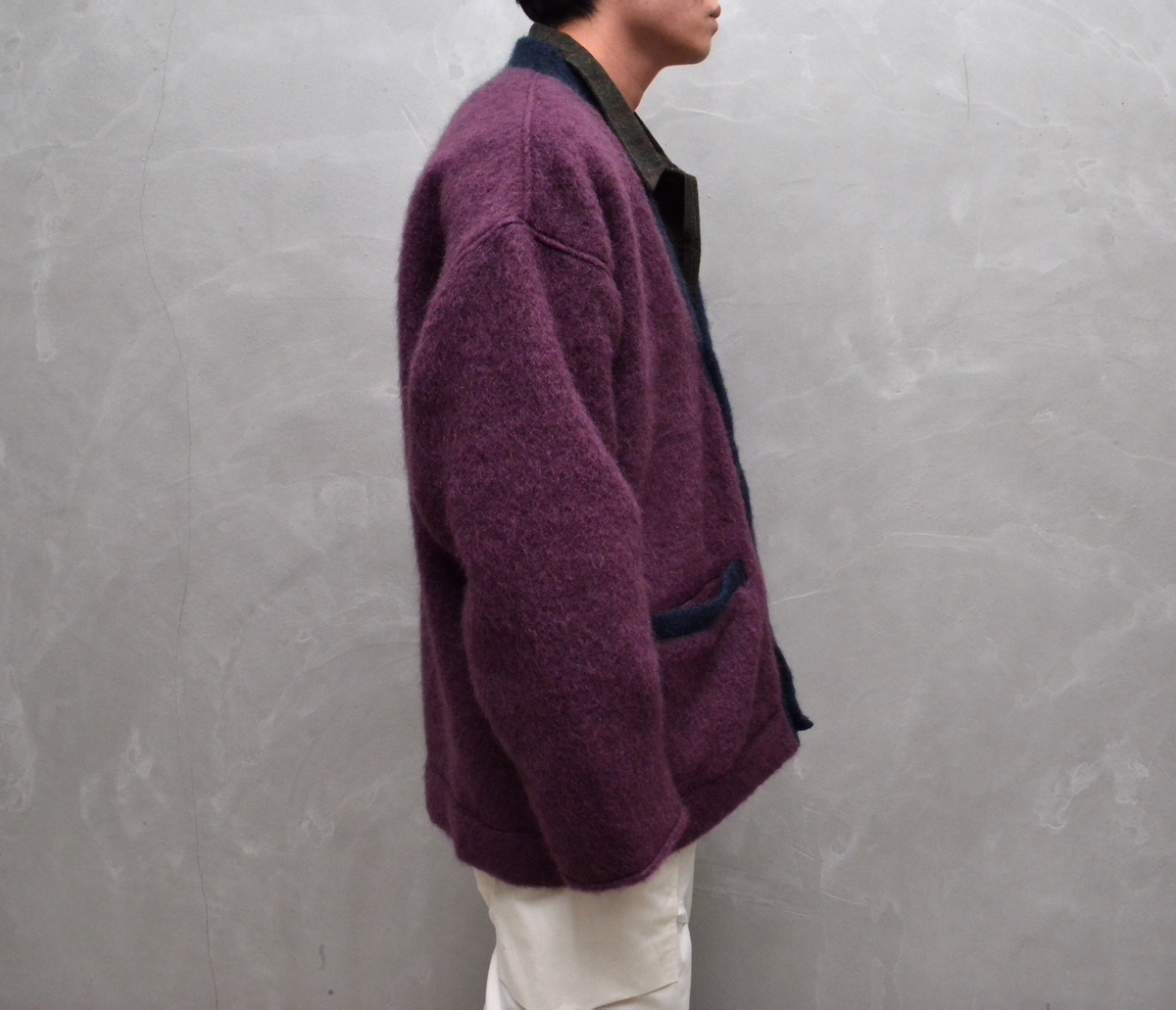 WHOWHAT  「MOHAIR CARDIGAN」