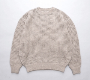 crepuscule 「mohair lowgage P/O - Beige」